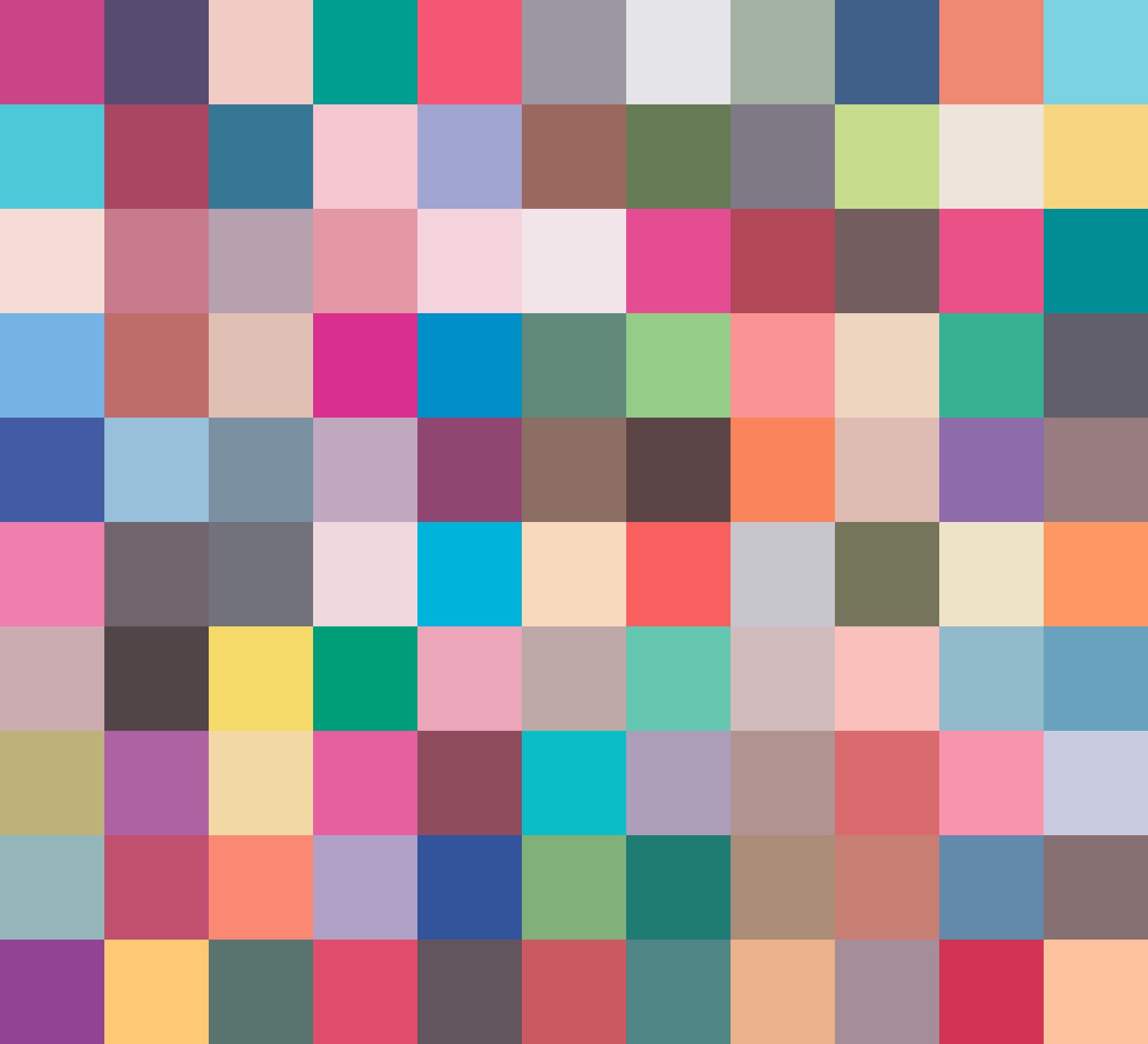 unsorted marker palette